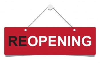 RE-OPENING RESTAURANT